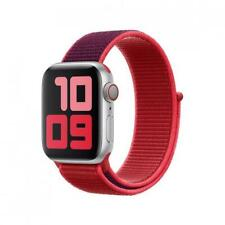 Genuine Apple Watch Nylon Sport Loop Strap Band 42mm / 44mm - (PRODUCT) RED