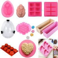 Silicone Ice Cube Candy Chocolate Cake Cookie Cupcake Soap Mold Mould DIY Tool S