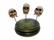 Human Skull Resin Model Set of (3) For Customizing Kits 04MM06