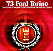 1973 FORD TORINO BROCHURE -GRAN TORINO SPORTSROOF-BROUGHAM -TORINO HARDTOP-WAGON