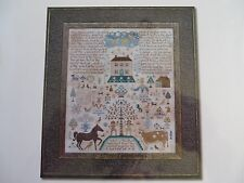 Barbara Ana X-stitch Chart - The Fall (The Serpent beguiled me, and I did Eat)