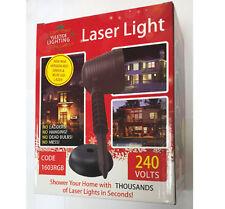 Laser Light Christmas Outdoor Xmas Laser Light Red Green & Blue Yuletide 1603RGB