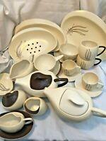 Vintage Carlton Ware Windswept 1950's Era Tableware - Various - Good Condition