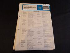 Original Service Manual  Telefunken Jubilate 201
