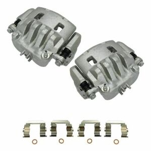 Raybestos Front Disc Brake Caliper with Bracket LH & RH Pair for Subaru