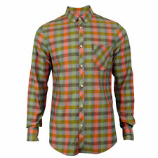 Ben Sherman Slim Long Sleeve Check Men's Casual Shirts & Tops