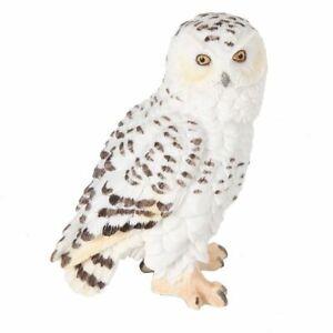 Snowy Owl figurine 13cm x 10cm