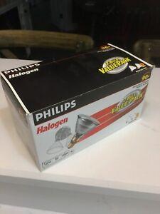 Philips 2 Bulb Pack 90W Indoor/Outdoor Halogen Flood Light Medium Base PAR38