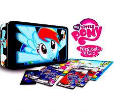 My little pony rainbow dash collector's tin box mlp enterplay dog tag foil card