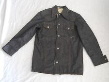 Sears Put On Shop Denim Jean Jacket Size 18 Sherpa Fleece Lined Vintage 70's