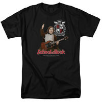 School of Rock Movie Jack Black THE TEACHER IS IN Licensed T-Shirt All Sizes