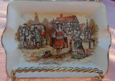 Landcaster & Sandland Ware pin Dish ash tray De Olden Days England Hanley