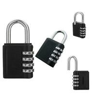 New Weatherproof Security Padlock Outdoor Heavy Duty 4-Digit Combination Lock