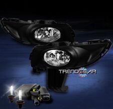 2004 2005 2006 MAZDA 3 MAZDA3 4DR JDM BUMPER CHROME FOG LIGHTS+8000K HID+HARNESS