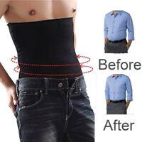Men's Slimming Sweat Sauna Abdominal Body Shaper Shapewear Waist Trainer Belt
