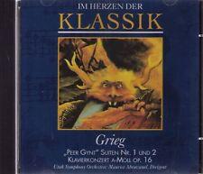 Grieg |  PEER GYNT - SUITEN Nr. 1 und 2, Klavierkonzert  | CD-Album,  gebraucht