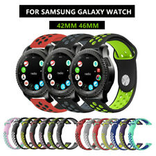 Replacement Silicone Sport Band Strap For Samsung Galaxy Watch 42mm 46mm Gear S3