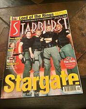 Starburst Mag 301. August 2003. Stargate/Terminator 3/ Buffy/Hulk/Tomb Raider 2