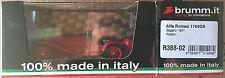 ALFA ROMEO 1750 GS 1931 Zagato Red 1 43 Model Brumm