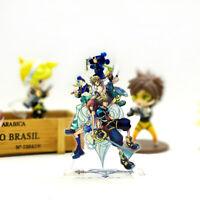 Kingdom Hearts Sora Kairi acrylic stand figure model toy anime table decoration