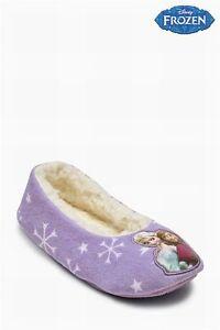 NEXT  Girls Disney Frozen Slippers Shoes Christmas Winter Cheapest Size 4