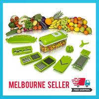 NEW Nicer Dicer PLUS Food Chopper Cutter Peeler 12in1 Slicer *MELBOURNE STOCK*