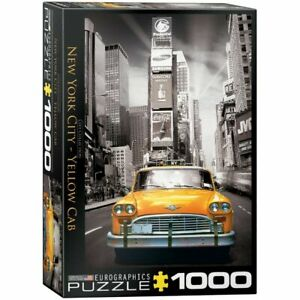 Eurographics 1000 Piece Jigsaw Puzzle - New York Yellow Cab EG60000657