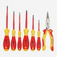 Wiha 32086 Insulated Screwdrivers and Pliers Set, 7 pcs
