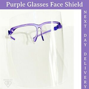 Premium Quality Face Shield Visor ANTI FOG Protect Protection Clear PPE Cover.