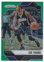 2016-17 Panini Prizm Basketball Green Prizm #188 Joe Young Pacers