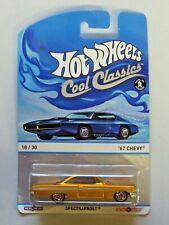 Hot Wheels Cool Classics Metal/Metal '62 Chevy Spectrafrost 18/30 NIP 1:64 2013