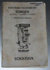 Sokkisha SOKKIA SDM3ER manuale operativo copia digitale inviato via email in formato PDF