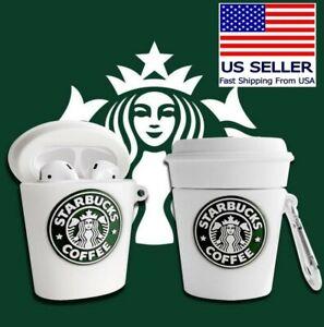 Starbucks Coffee Protective Case for Apple AirPod Gen 1, 2, & 3/Pro