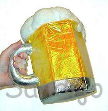 Oktoberfest Beer Stein Plush Handbag, Zipper Purse, Leg Avenue A1023