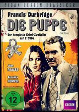 Francis Durbridge - Die Puppe - DVD Thriller 2-Teiler Krimi Pidax Serie Neu Ovp