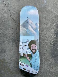 "New / Sealed / NOS RIPNDIP Skateboards Beautiful Mountain 8.25"" Skateboard Deck"