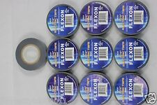 "10 Rolls Of Gray 3/4"" Electric Tape"