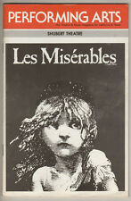 """Les Miserables""  Playbill  National Tour L. A. 1988 William Solo, Gary Beach"