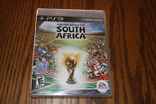 2010 FIFA World Cup: South Africa (Sony Playstation 3, 2010) Brand New