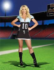 Sack Me Halloween Female Party Costume Football Light Up Dress 1X/2X SHIP USA