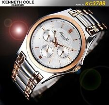 KENNETH COLE MEN'S POWER LUXURY ROSE GOLD FUTURE WATCH KC3789