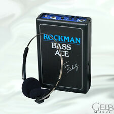 Dunlop Rockman Bass Ace Headphone Amplifier - Rock-BA
