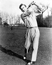 Johnny Revolta 1935 PGA champ follow-thru photo