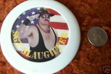 """SGT SLAUGHTER  4""""  Flasher Early Wrestling   Pin"""