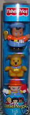 Fisher Price Little People Worker Tube Construction Flag Ice Cream Driver Dog