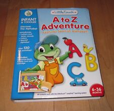 """LeapFrog Little Touch """"A to Z Adventure"""" - Spanish Alphabet - Complete NEW"""