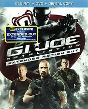 RARE Best Buy Exclusive Extended Cut G.I. Joe: Retaliation Blu-ray DVD DC