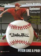 Club K Spin Right Spinner Baseball Softball Pitcher Training Aid