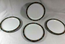More details for denby pottery marrakesh - 4 side/salad/dessert plates 8 1/2