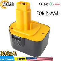 NEW FOR DEWALT DC9071 3600mAH 12V XRP DW9071 DW9072 DE9072 DE9074 Tools Battery